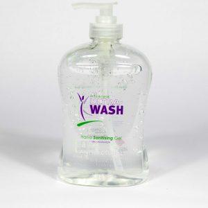 Ultra Wash Anti Bacterial Hand Sanitizer Gel 500ml Pump