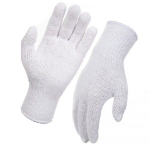 Knitted Poly Cotton Gloves