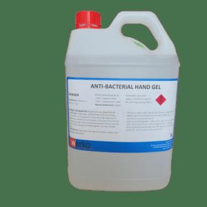 Antibacterial Hand Gel Liquid Sanitiser 5 Litre