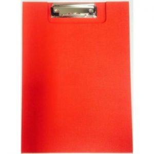 Razorline Clip Folder A4 PP Red