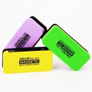 Deli Magnetic Whiteboard Eraser 110x50x30mm