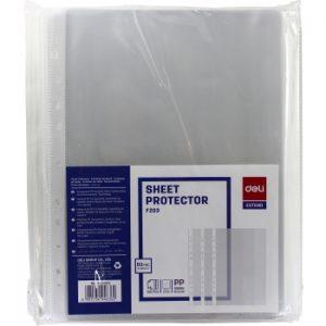 Razorline Heavy Duty Sheet Protectors .80 Micron 100 Pack