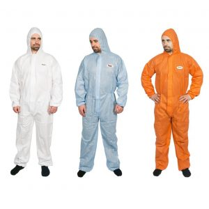 High Calibre Disposable Coveralls SMS Type 5-6