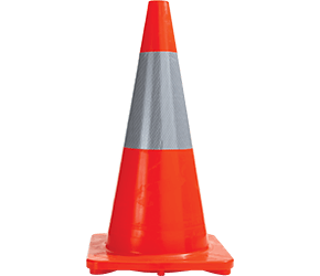Maxisafe 700m Reflective Traffic Cones
