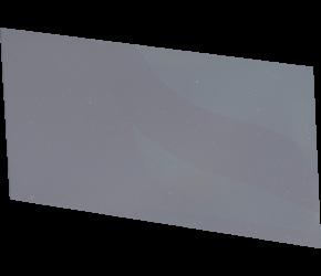 Clear Polycarbonate Lens, 108 x 51mm