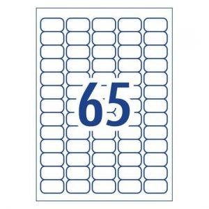 A4 Labels 65 Per Page 21.2×38.1mm 100 Sheets