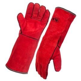 Namib Split Leather Red Welding Gloves