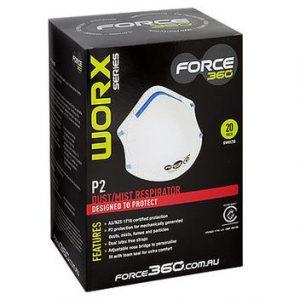 Force360 P2 N95 Face Mask Respirators 20 Pack