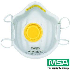 MSA Affinity 1221 Valved Respirators P2 N95 10 Pack