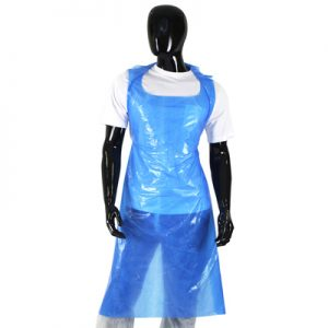 Disposable Aprons Blue Box Of 500